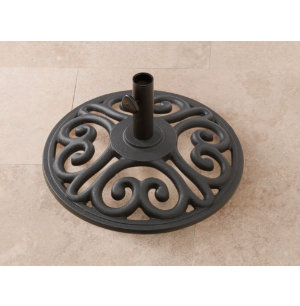 35lb Black Umbrella Base