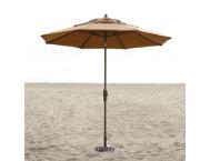9'-Amber-Auto-Tilt-Umbrella