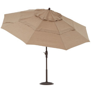 11' Sesame Auto Tilt Umbrella