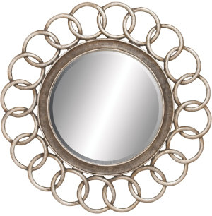 Interlocking Circles Mirror