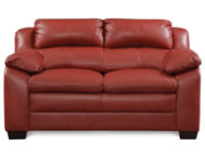 Maddox Red Loveseat
