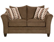 Albany Chestnut Loveseat