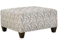 Albany Pewter Cocktail Ottoman