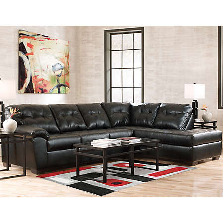 Art Van Leather Sofa Art Van Maddox Espresso Sofa And