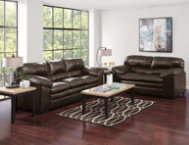 Living Room Sets In The Bronx bronx brown sofa - art van furniture