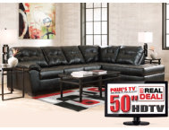 7PC Living Room Package with TV