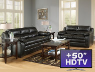 shop 7-Piece-Living-Room---Onyx-with-TV