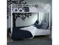 Kylie White Twin Futon Bunk