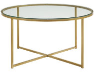 Derby Gold X Base Coffee Table