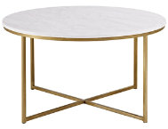 Derby Faux Marble Coffee Table