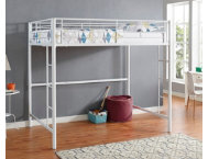 Kylie White Full Loft Bed