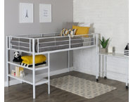 Kylie Twin Low Loft With Desk