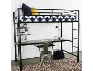 Kylie Twin Loft Bed With Desk