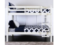 shop Max White Twin Bunk Bed