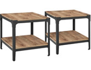 Barnwood End Tables Set of 2
