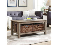 Cottage Driftwood Coffee Table