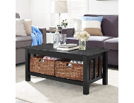 Cottage Black Coffee Table