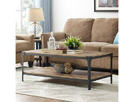 Angles Barnwood Coffee Table