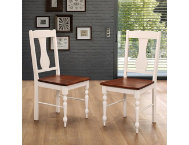 Bourbon Dining Chairs Set of 2