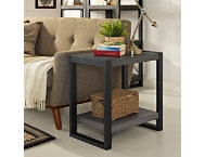 Ty Charcoal End Table