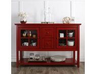 Bingham Antique Red Sideboard