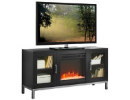 Andy 52  Black Fireplace
