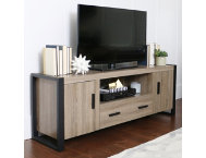 Ethan 60  Driftwood TV Stand