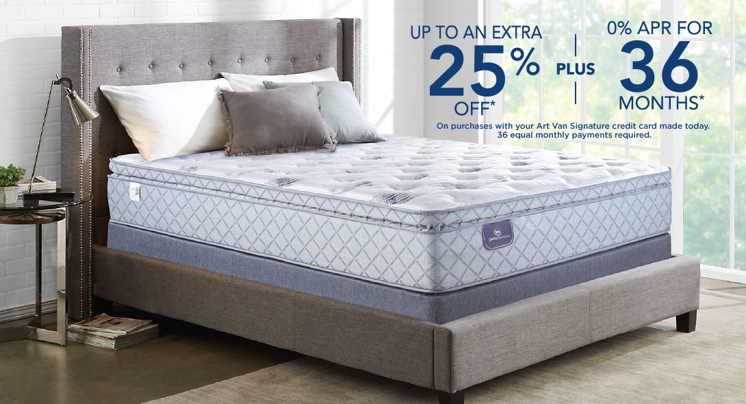 Current Mattress Discounts Art Van Puresleep