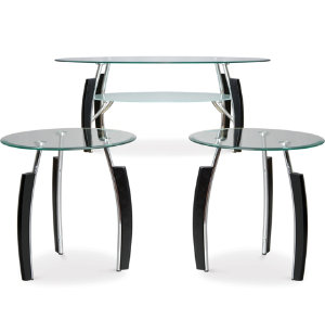 3 Pack Occasional Table Set