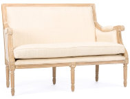 shop Cannes-Beige-Linen-Loveseat