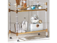 shop Acrylic Trolley