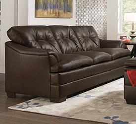 Apollo Espresso Sofa $499 $199 Shop Now