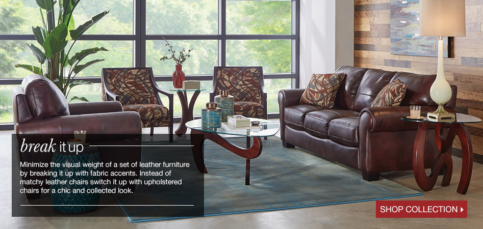 Break It Up Instead Of Matchy Leather Chairs Switch With Upholstered For