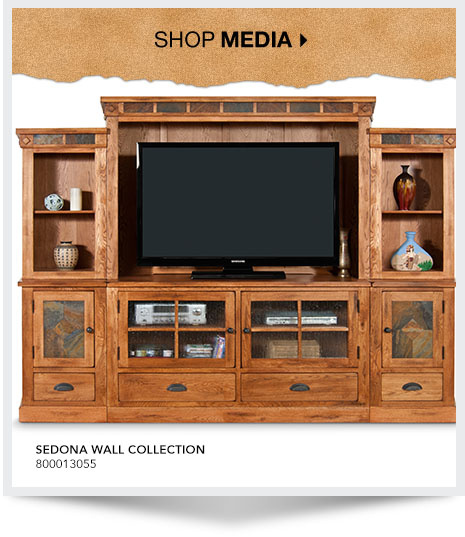 Shop Media. Sedona Wall Collection. SKU: 800013055