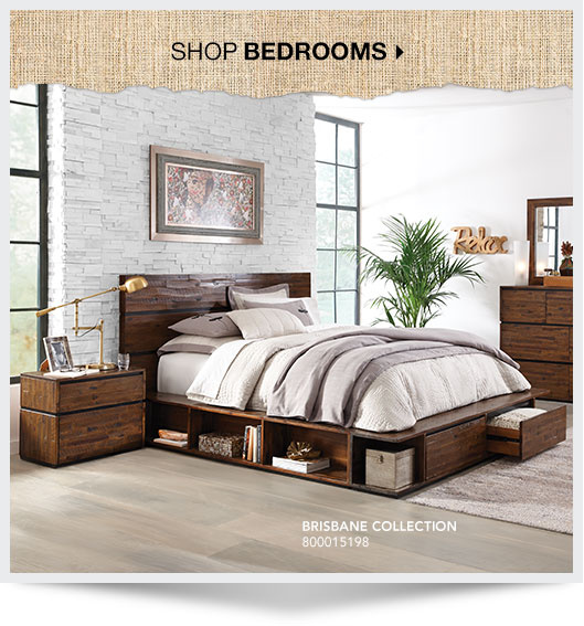 Shop Bedrooms. Brisbane collection. SKU: 800015198