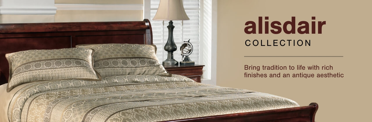 A Plus Content -  http://s7d3.scene7.com/is/image/AshleyFurniture/CollectionA%2BBanner%5FAlisdair%5FBedroom?scl=1