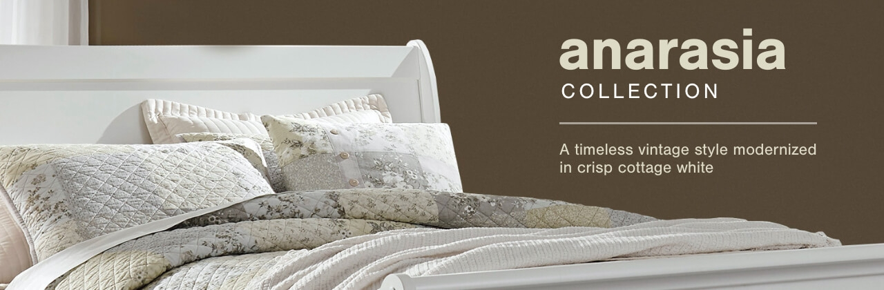 A Plus Content -  http://s7d3.scene7.com/is/image/AshleyFurniture/CollectionA%2BBanner%5FAnarasia%5FBedroom?scl=1