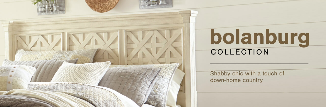 A Plus Content -  http://s7d3.scene7.com/is/image/AshleyFurniture/CollectionA%2BBanner%5FBolanburg%5FBedroom?scl=1