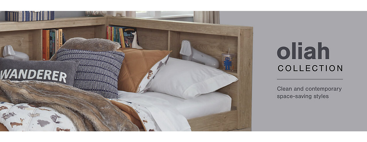 A Plus Content -  http://s7d3.scene7.com/is/image/AshleyFurniture/CollectionA%2BBanner%5FOliah%5FBedroom?$A%2DPlus%2DContent$