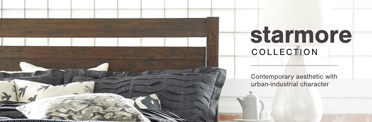 A Plus Content -  http://s7d3.scene7.com/is/image/AshleyFurniture/CollectionA%2BBanner%5FStarmore%5FBedroom?scl=1
