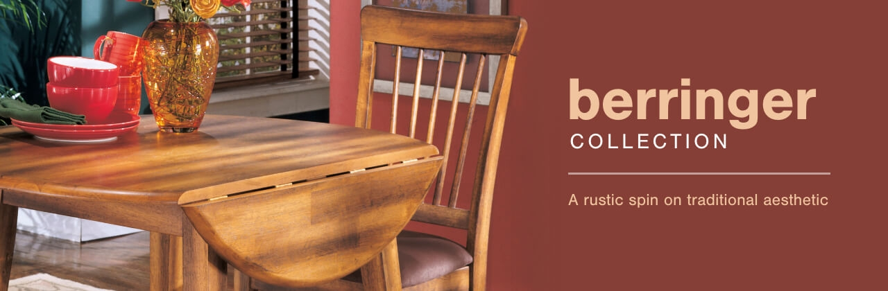 A Plus Content -  http://s7d3.scene7.com/is/image/AshleyFurniture/CollectionABanner%5FBerringer%5FDining?scl=1