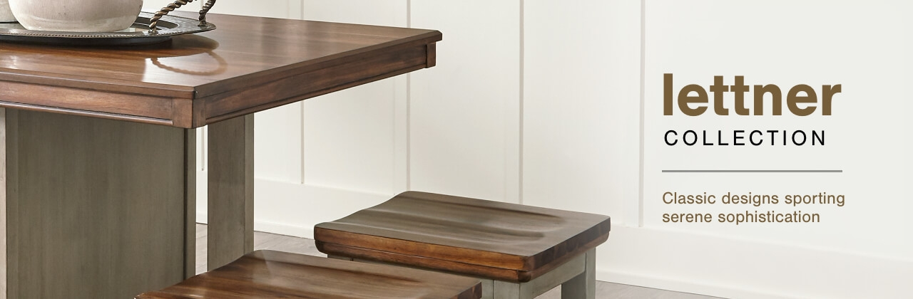 A Plus Content -  http://s7d3.scene7.com/is/image/AshleyFurniture/CollectionABanner%5FLettner%5FDining?scl=1
