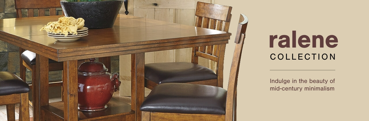 A Plus Content -  http://s7d3.scene7.com/is/image/AshleyFurniture/CollectionABanner%5FRalene%5FDining?scl=1
