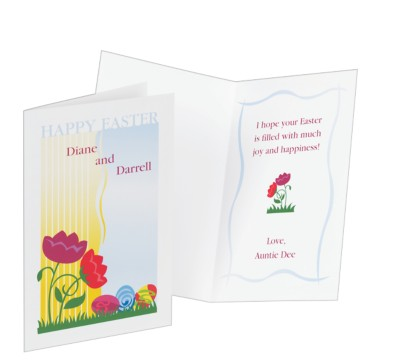 Avery A5 greeting cards