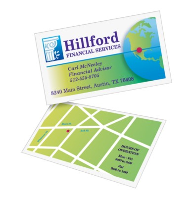 Two-Sided Business Cards