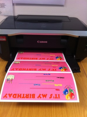 Print your cards