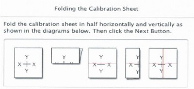 Calibration Sheet