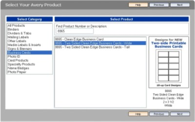 Step 2: Select Product Category