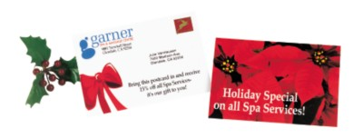 Holiday Promotional Postcard
