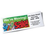 We're Moving Sale Banner